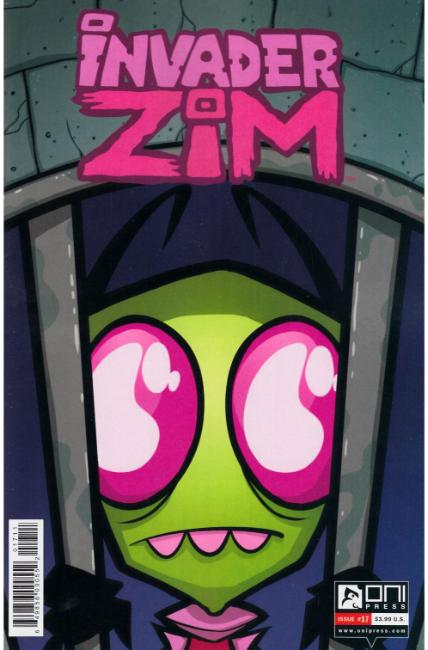 Invader Zim #17 [Oni Press Comic] THUMBNAIL