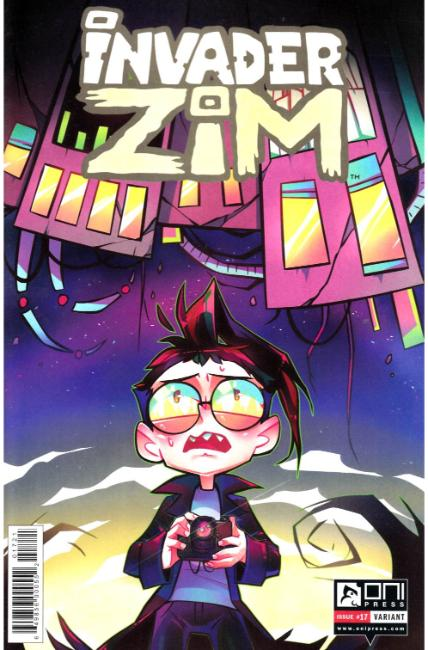Invader Zim #17 Shmorky Variant Cover [Oni Press Comic] THUMBNAIL