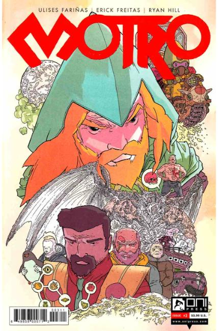 Motro #3 [Oni Press Comic] LARGE