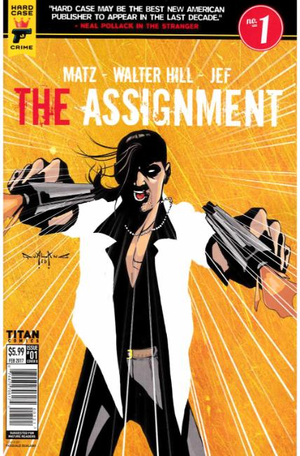 Assignment #1 Cover B [Titan Comic]_THUMBNAIL
