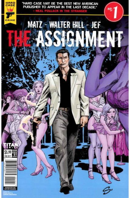 Assignment #1 Cover D [Titan Comic]_THUMBNAIL