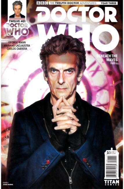 Doctor Who 12th Doctor Year Three #1 Cover A [Titan Comic] THUMBNAIL