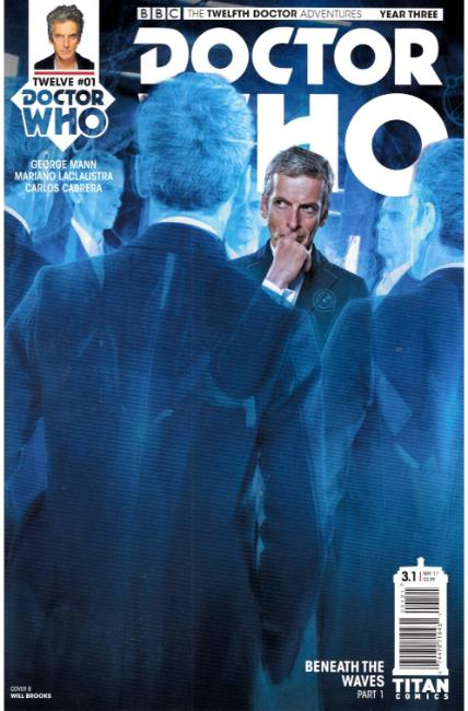 Doctor Who 12th Doctor Year Three #1 Cover B [Titan Comic] LARGE