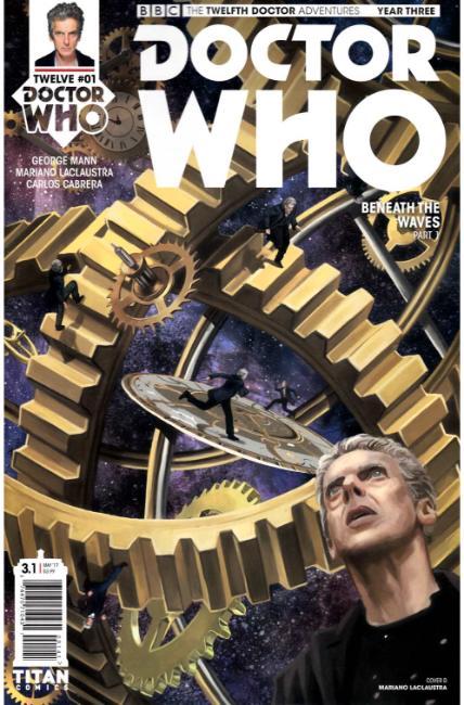 Doctor Who 12th Doctor Year Three #1 Cover D [Titan Comic] THUMBNAIL