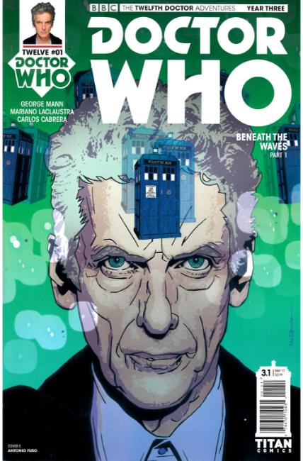 Doctor Who 12th Doctor Year Three #1 Cover E [Titan Comic] THUMBNAIL