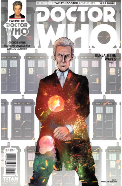 Doctor Who 12th Doctor Year Three #1 Cover F [Titan Comic] THUMBNAIL