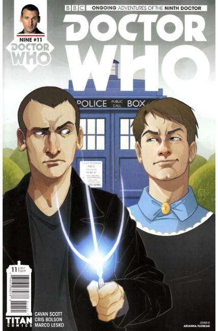 Doctor Who 9th Doctor #11 Cover D [Titan Comic] THUMBNAIL