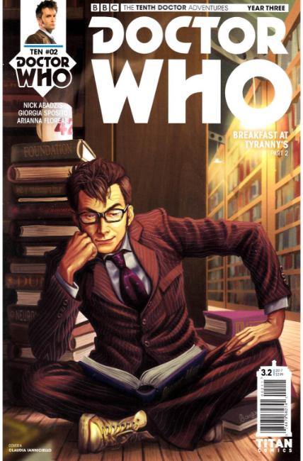 Doctor Who 10th Doctor Year Three #2 Cover A [Titan Comic] THUMBNAIL