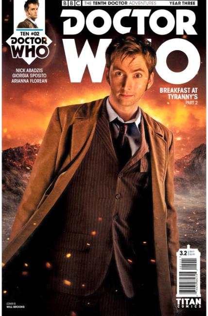 Doctor Who 10th Doctor Year Three #2 Cover B [Titan Comic] THUMBNAIL