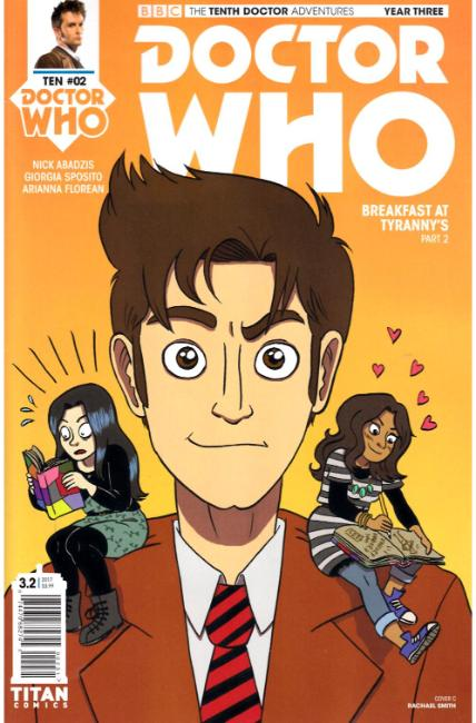 Doctor Who 10th Doctor Year Three #2 Cover C [Titan Comic] LARGE