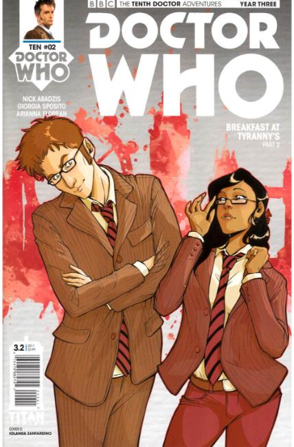 Doctor Who 10th Doctor Year Three #2 Cover D [Titan Comic] THUMBNAIL