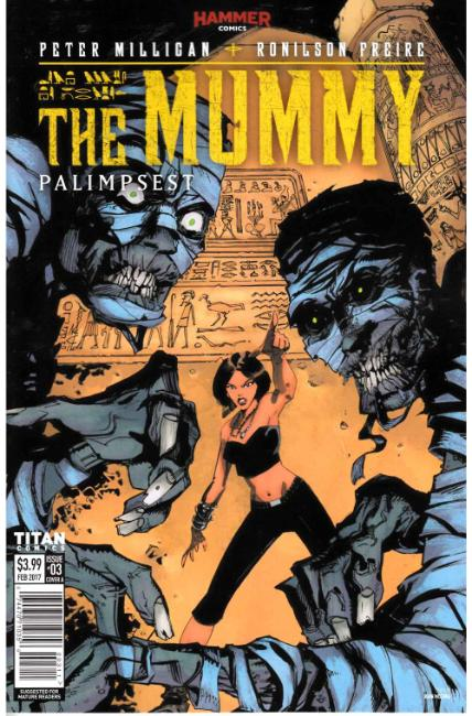 The Mummy #3 Cover A [Titan Comic] THUMBNAIL