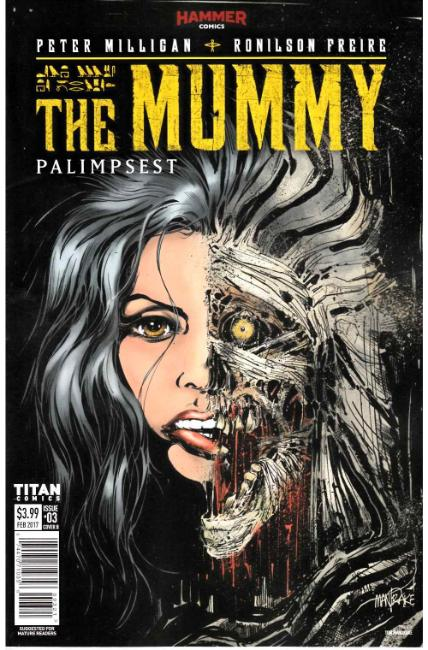 The Mummy #3 Cover B [Titan Comic] THUMBNAIL