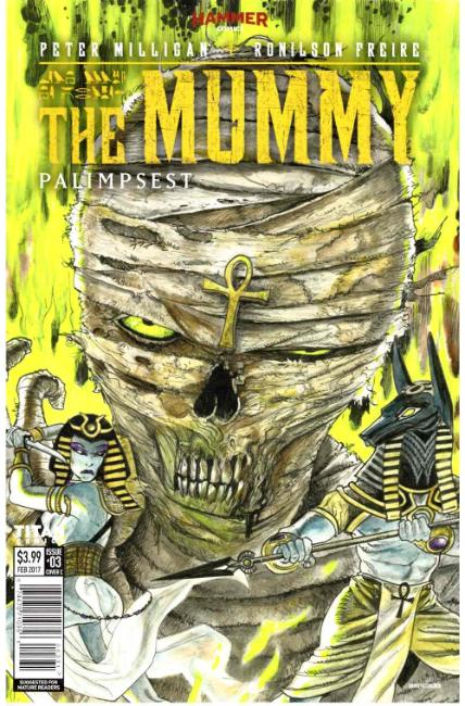 The Mummy #3 Cover C [Titan Comic] THUMBNAIL
