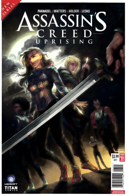Assassins Creed Uprising #1 Cover B [Titan Comic]_THUMBNAIL