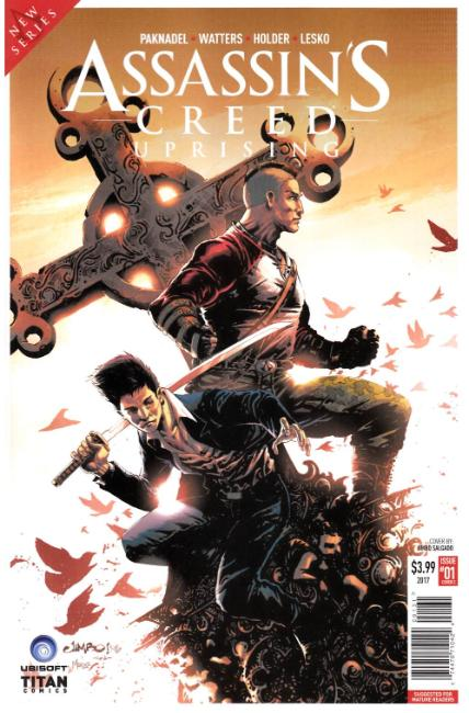 Assassins Creed Uprising #1 Cover C [Titan Comic] THUMBNAIL