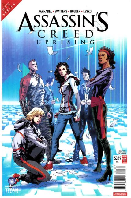 Assassins Creed Uprising #1 Cover D [Titan Comic]_THUMBNAIL