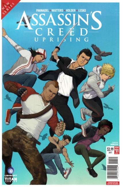 Assassins Creed Uprising #1 Cover E [Titan Comic] THUMBNAIL