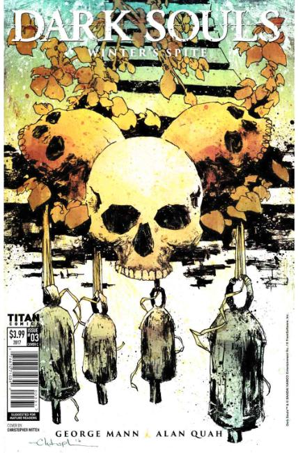Dark Souls Winters Spite #3 Cover C [Titan Comic] THUMBNAIL