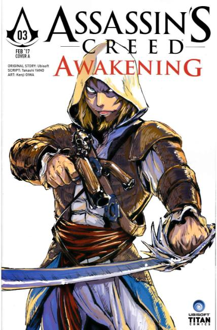 Assassins Creed Awakening #3 Cover A [Titan Comic] THUMBNAIL