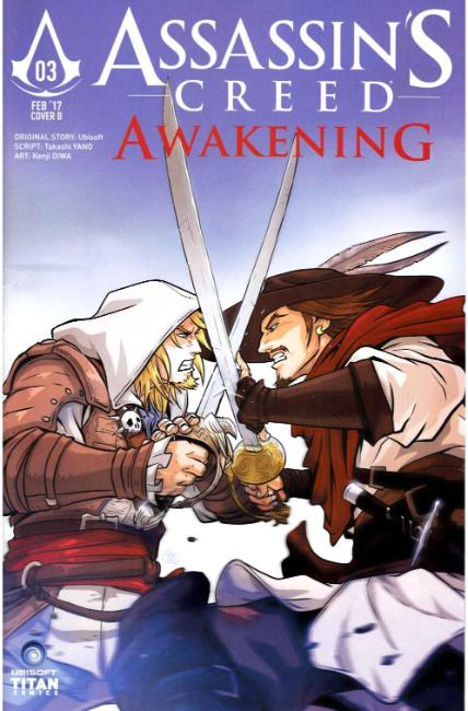 Assassins Creed Awakening #3 Cover B [Titan Comic] THUMBNAIL
