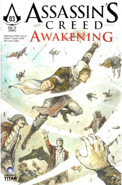 Assassins Creed Awakening #3 Cover C [Titan Comic] THUMBNAIL