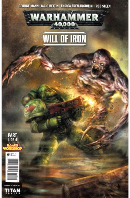 Warhammer 40000 Will of Iron #4 Cover A [Titan Comic] THUMBNAIL