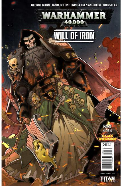 Warhammer 40000 Will of Iron #4 Cover C [Titan Comic] THUMBNAIL