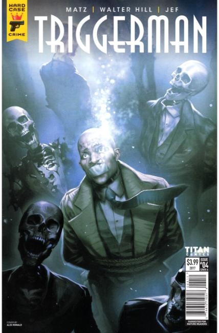 Hard Case Crime Triggerman #4 Cover A [Titan Comic] LARGE