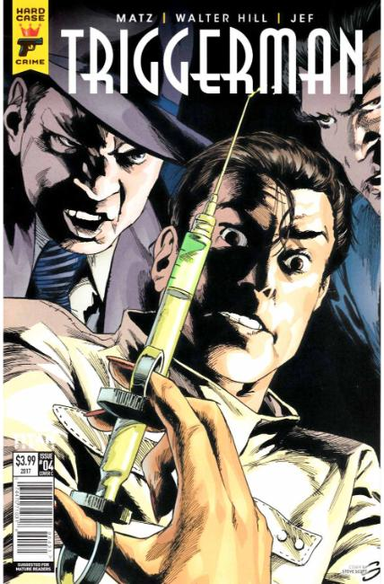 Hard Case Crime Triggerman #4 Cover C [Titan Comic] LARGE