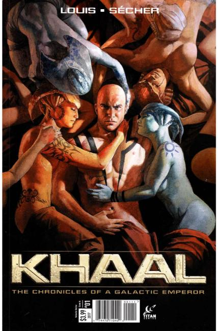 Khaal #1 Cover A [Titan Comic] LARGE