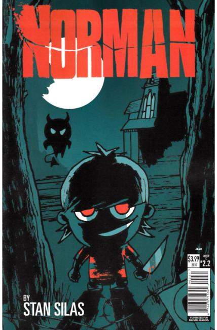 Norman the First Slash #2 Cover C [Titan Comic] THUMBNAIL