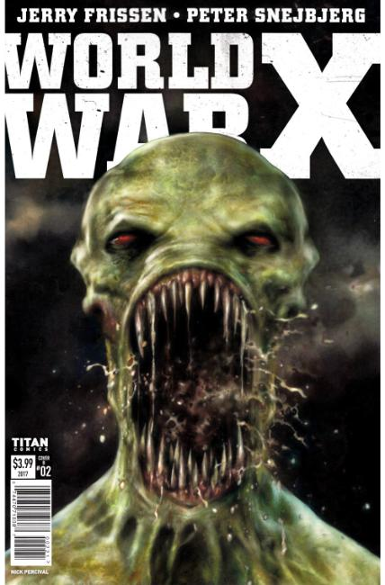 World War X #2 Cover B [Titan Comic]