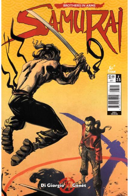 Samurai Brothers in Arms #5 Cover A [Titan Comic] LARGE