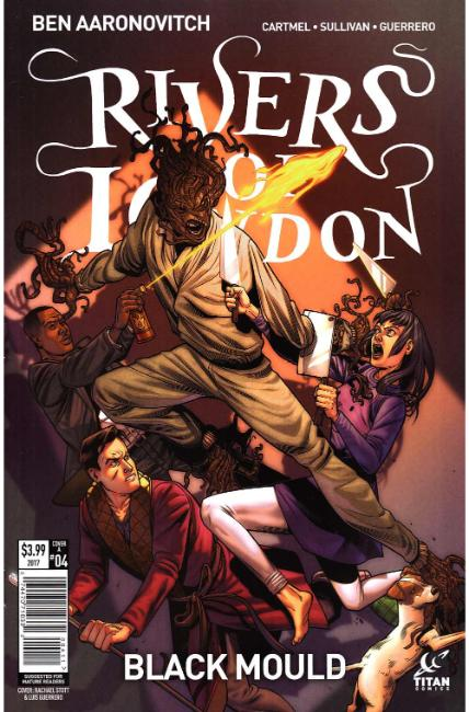 Rivers of London Black Mould #4 Cover A [Titan Comic] THUMBNAIL