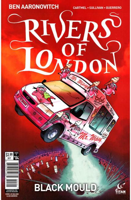 Rivers of London Black Mould #4 Cover B [Titan Comic] THUMBNAIL