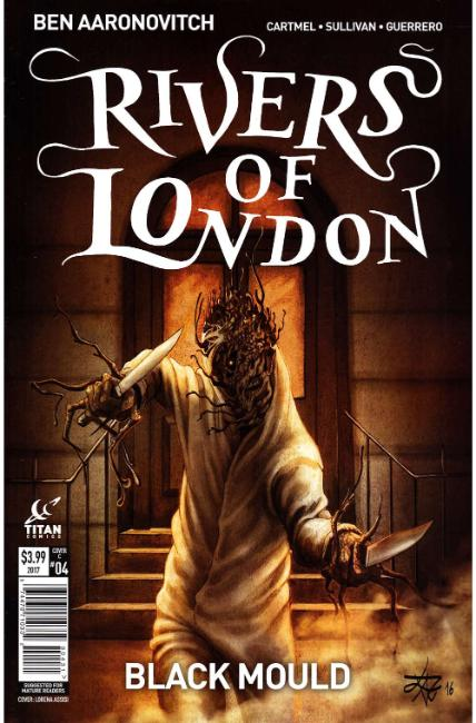 Rivers of London Black Mould #4 Cover C [Titan Comic] THUMBNAIL