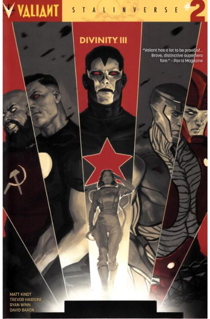 Divinity III Stalinverse #2 Cover A [Valiant Comic] THUMBNAIL