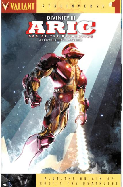 Divinity III Aric #1 Cover A [Valiant Comic] THUMBNAIL