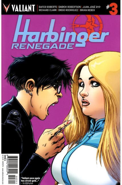 Harbinger Renegade #3 Cover A [Valiant Comic] THUMBNAIL