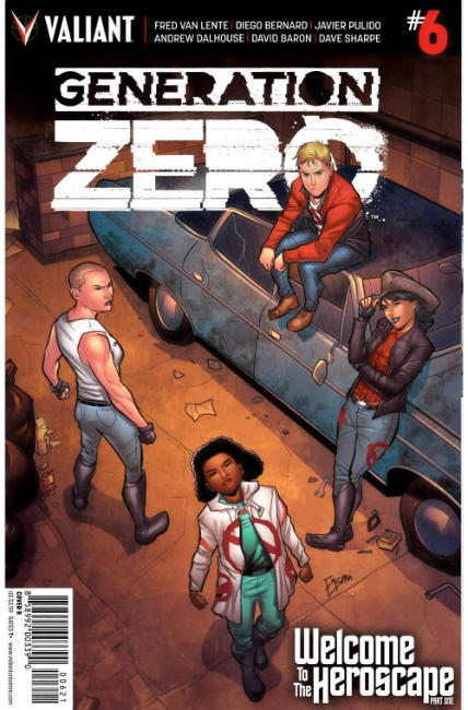 Generation Zero #6 Cover B [Valiant Comic] THUMBNAIL