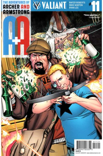 Archer & Armstrong #11 Cover B [Valiant Comic] THUMBNAIL