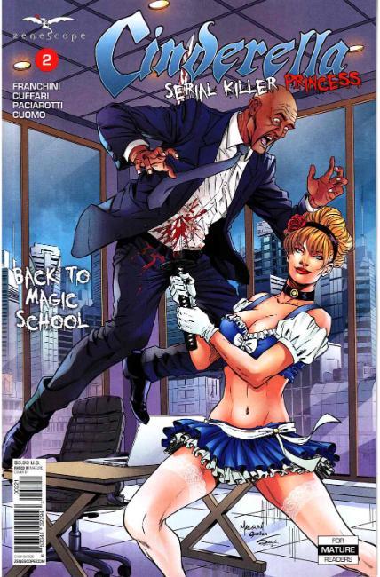 Cinderella Serial Killer Princess #2 Cover B [Zenescope Comic]