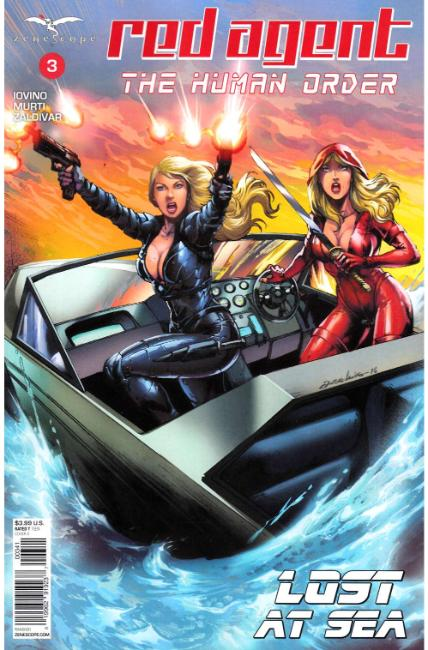 GFT Red Agent Human Order #3 Cover D [Zenescope Comic]