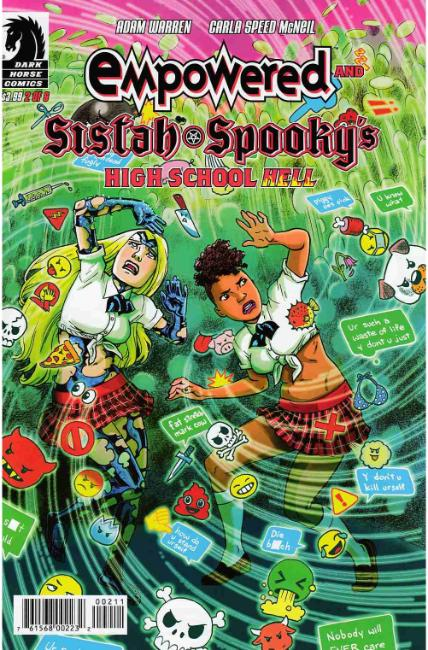 Empowered & Sistah Spookys High School Hell #2 [Dark Horse Comic] LARGE