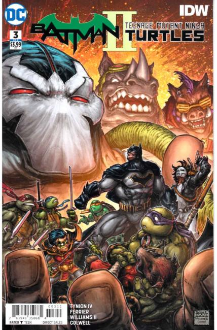 Batman Teenage Mutant Ninja Turtles II #3 [DC Comic] THUMBNAIL