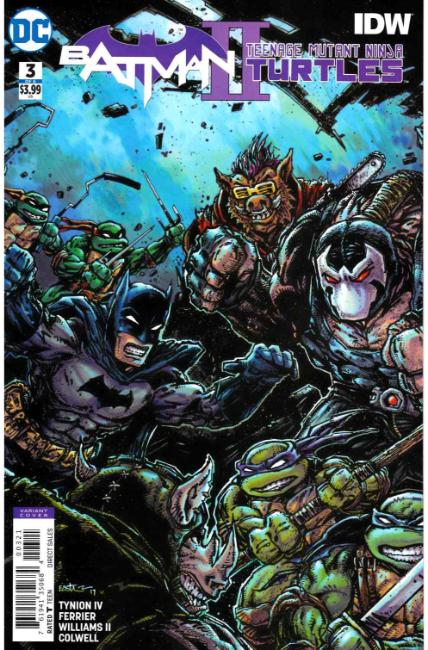 Batman Teenage Mutant Ninja Turtles II #3 Eastman Variant Cover [DC Comic] THUMBNAIL
