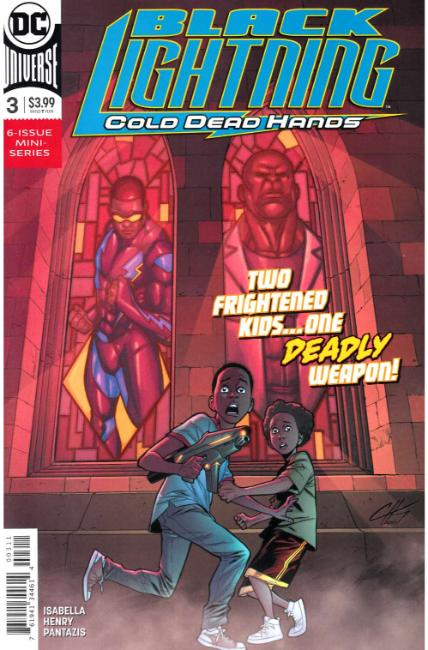 Black Lightning Cold Dead Hands #3 [DC Comic] THUMBNAIL