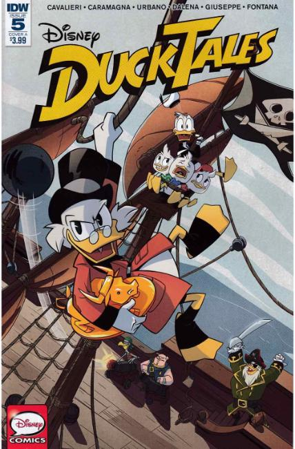 Ducktales #5 Cover A [IDW Comic]