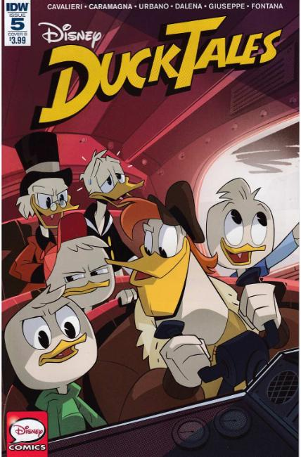 Ducktales #5 Cover B [IDW Comic]